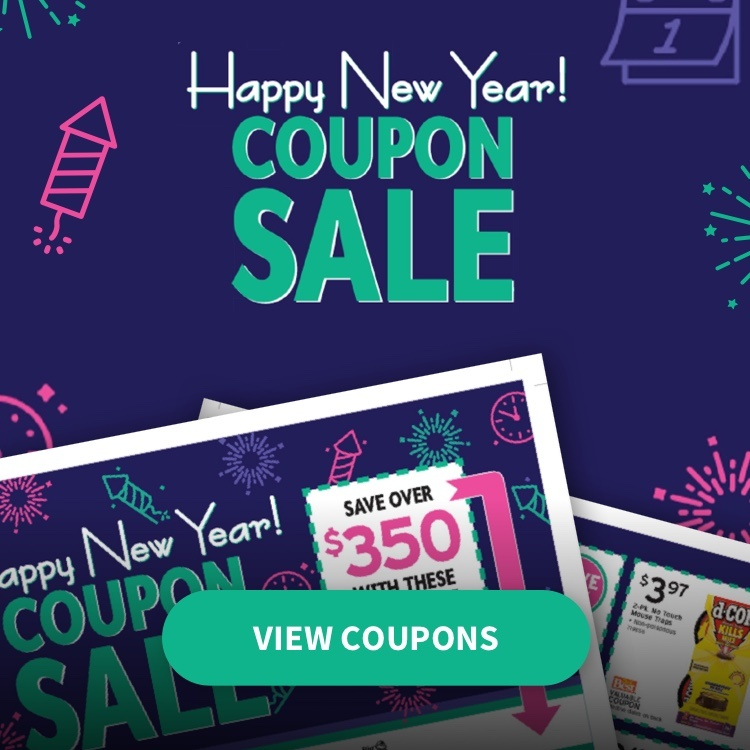 Happy New Year Coupon Sale at Brownsboro Hardware with View Coupons link