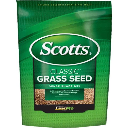 Scotts Classic 3 Lb. 650 Sq. Ft. Coverage Dense Shade Grass Seed