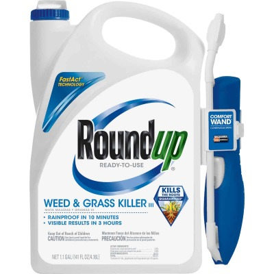 Roundup 1.1 Gal Ready To Use Wand Sprayer Weed & Grass Killer III