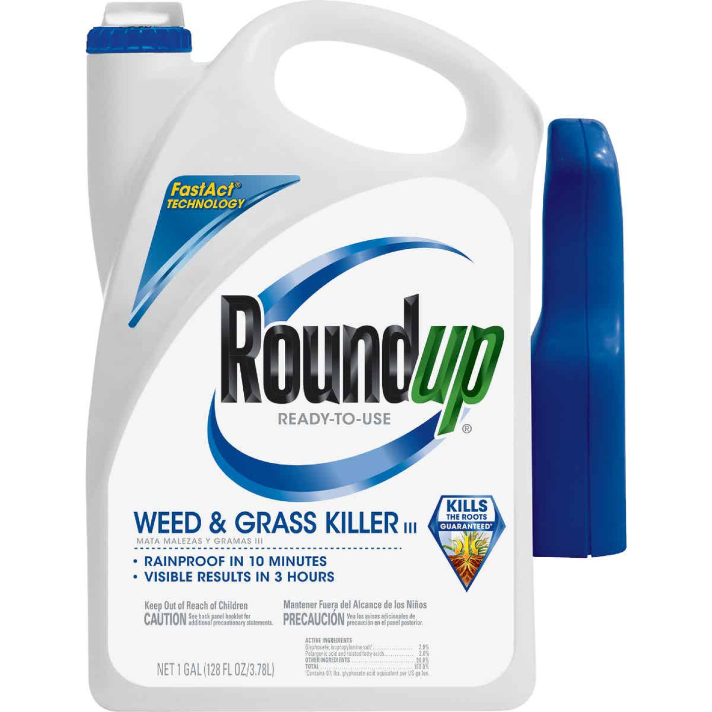 Roundup 1 Gal. Ready To Use Trigger Spray Weed & Grass Killer III Image 1