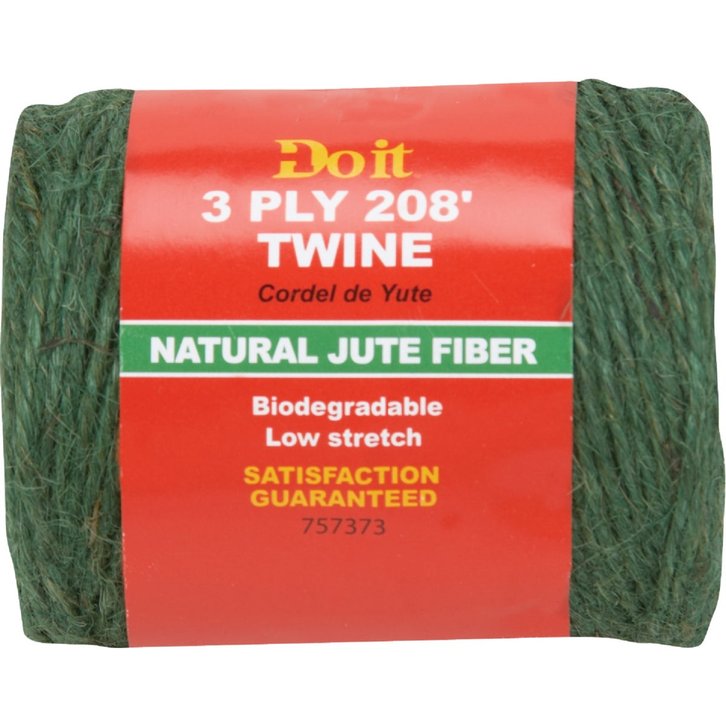 Do it 3-Ply x 208 Ft. Green Jute Biodegradable Twine Image 1