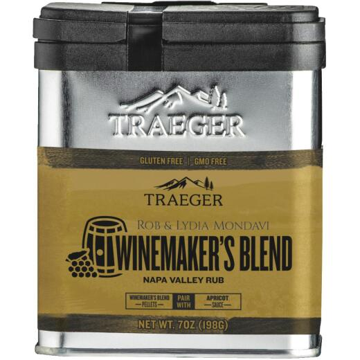 Traeger Winemaker's Blend 7 Oz. Rub