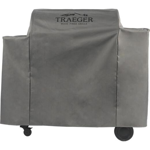 Traeger Ironwood 885 54 In. Gray Hydrotuff Full-Length Grill Cover