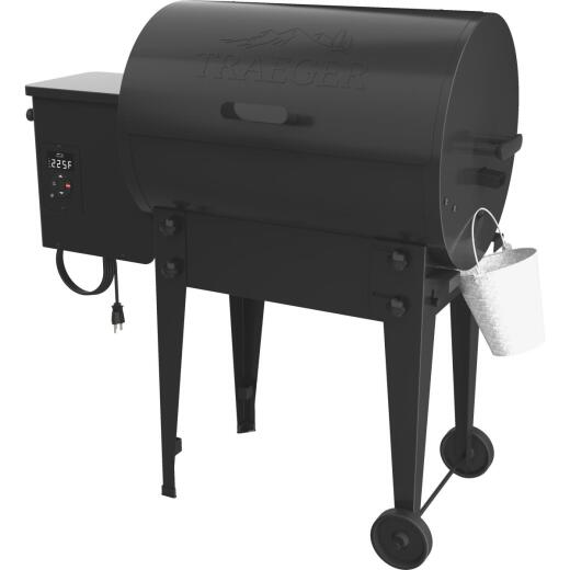 Traeger Tailgater 20 Black 19,500 BTU 300 Sq. In. Wood Pellet Grill