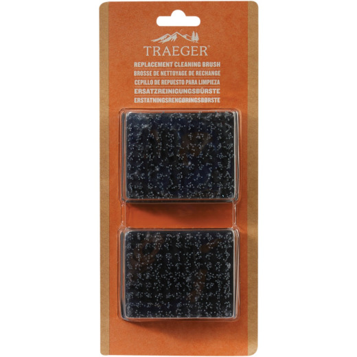Traeger Grill Cleaning Replacement Brush (2-Pack)